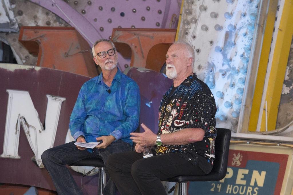 Shimmering Zen Book Launch – Neon Museum (2018) – Las Vegas 4